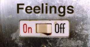 emotionally unavailable, feelings on or off